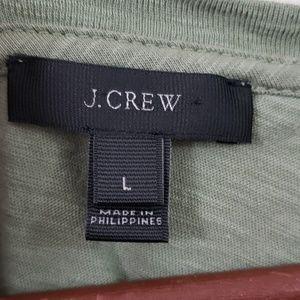 J. Crew Tops - J.Crew SALUT! Tee size Large